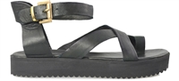 DEVERRA-BLACK-sandals-Traffic Footwear