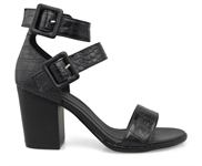 JUKE-BLACK CROC-heels-Traffic Footwear