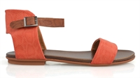 RONNIE-RED-BRANDY STRAP-summer-clearance-Traffic Footwear