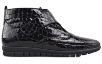 WINTER-BLACK CROC-boots-Traffic Footwear