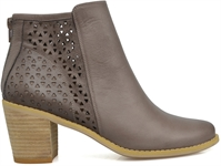 AXEL-EXCALIBUR TAUPE-ankle-boots-Traffic Footwear