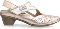 SPEKTOR-ROSE GOLD-heels-Traffic Footwear