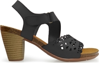 POSEIDON-BLACK NEGRO-heels-Traffic Footwear