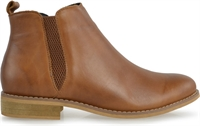VAL-NEW NATURE TAN LEATHER-women-Traffic Footwear