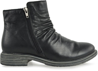 LEGACY-BLACK LEATHER-boots-Traffic Footwear