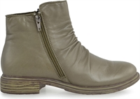 LEGACY-OLIVE LEATHER-women-Traffic Footwear
