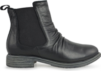 LIPSY-BLACK LEATHER-women-Traffic Footwear