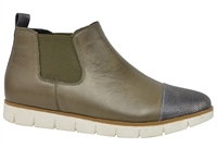 MARSDEN-OLIVE LEATHER-women-Traffic Footwear