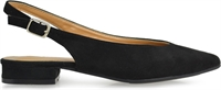 PIPPA-BLACK FAUX SUEDE-heels-Traffic Footwear
