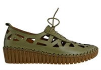 WATCHOUT-MOSS GREEN-women-Traffic Footwear