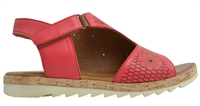 ZAPPO-TOMATO RED-sandals-Traffic Footwear