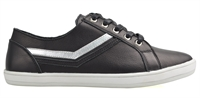 GRETCHEN-BLACK SILVER-women-Traffic Footwear