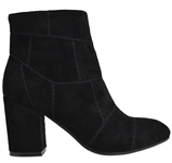 KARLIS-BLACK FAUX SUEDE-boots-Traffic Footwear