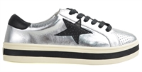 PIXIE-SILVER BLACK TRIM-women-Traffic Footwear