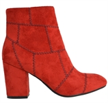 KARLIS-RED-ankle-boots-Traffic Footwear