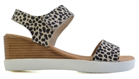 EMMANUEL-BROWN ANIMAL PRINTED LEATHER-women-Traffic Footwear